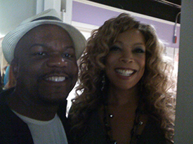 Guest on the Wendy Williams show Fox